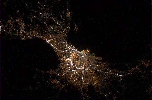 Manila from space